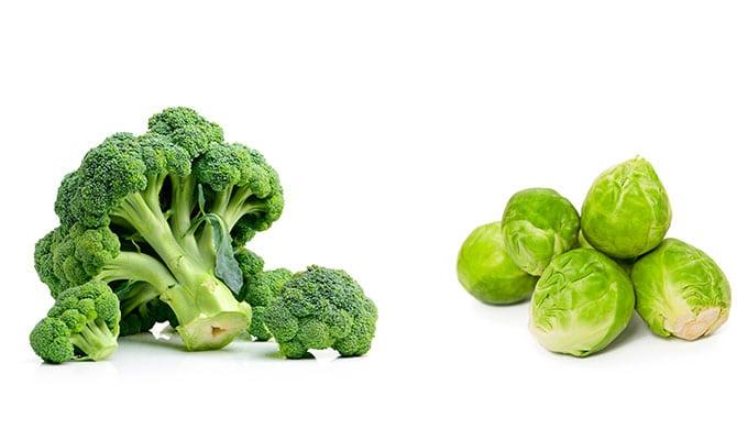 Las frutas y verduras sin aditivos