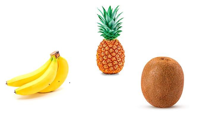 frutas y verduras sin aditivos