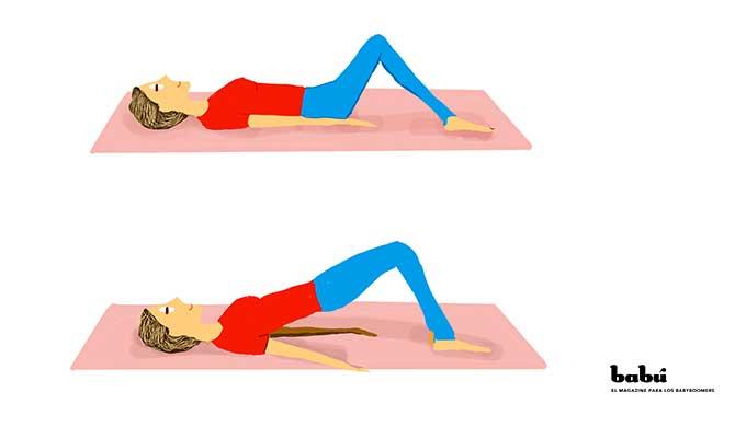ejercicios para bajar la barriga y piernas
