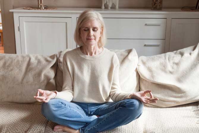 meditación para superar crisis