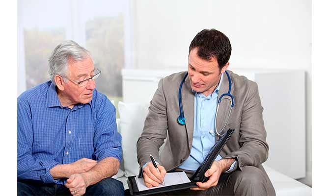 Chequeos médicos para hombres mayores de 50