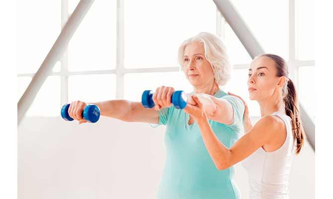 ganar masa muscular mujer en casa