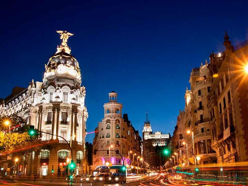 planes septiembre y octubre en Madrid