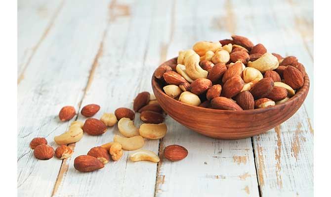 Alimentos para la artrosis frutos secos