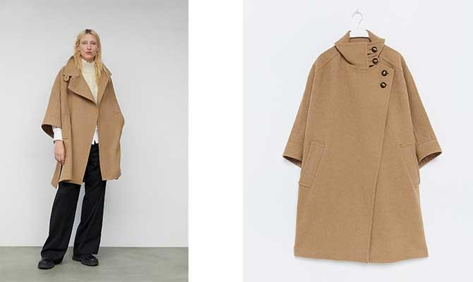 capa lana camel