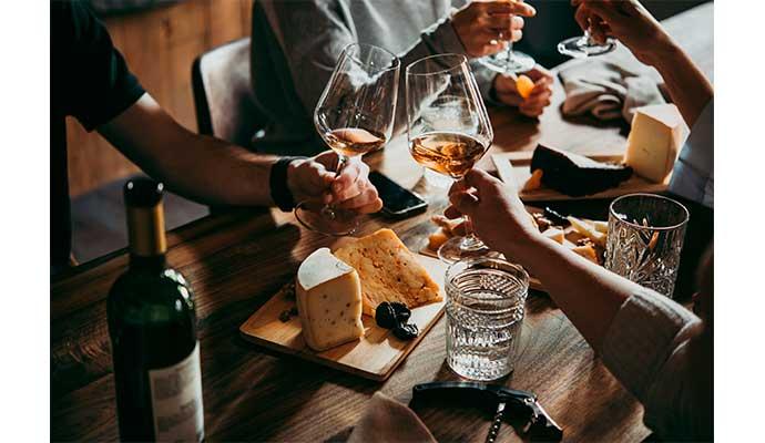 calorías del vino tinto
