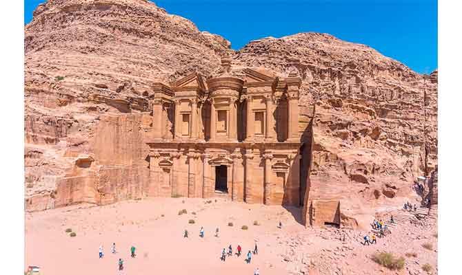 vacaciones de invierno al sol Jordania