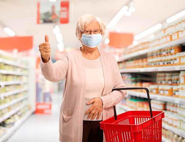 coronavirus supermercado
