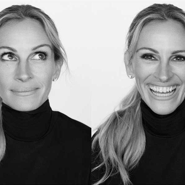 Sonreír con la mirada. foto cortesia de Lancôme