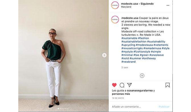 catherine dupon en su instagram