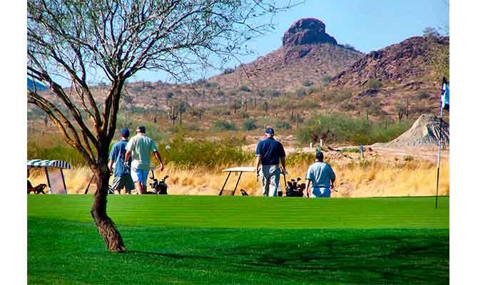 hacerse amigos en el golf