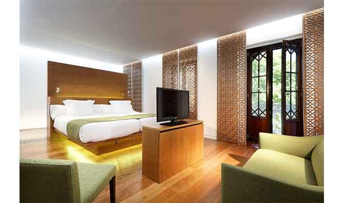 habitación Deluxe Alhambra hotel
