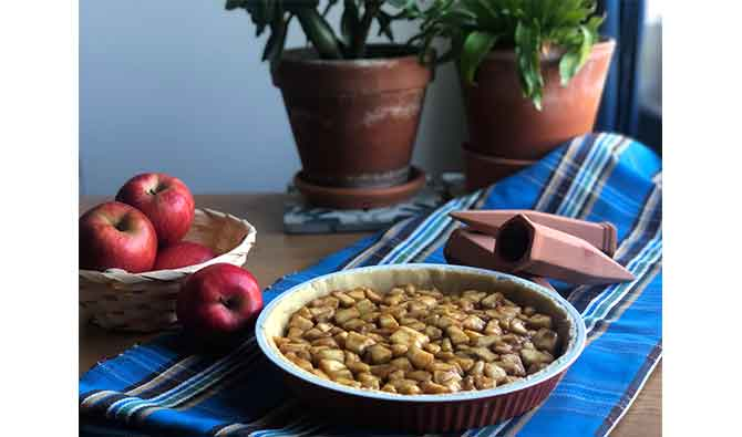 Apple pie receta
