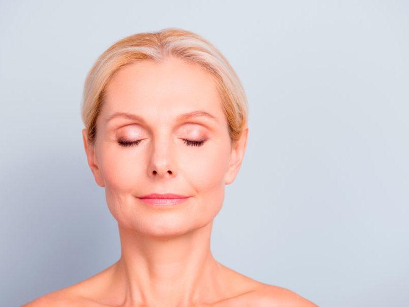piel mujer mayor de 40 años
