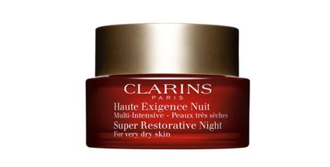 """""""Multi-Intensive Noche"""" de Clarins crema de noche para pieles maduras"""