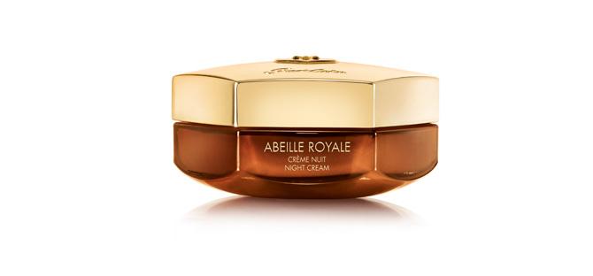 Abeille Royale crema de Noche de Guerlain para pieles maduras