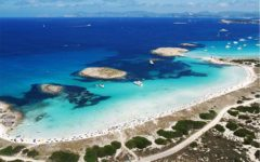vista playa Formentera