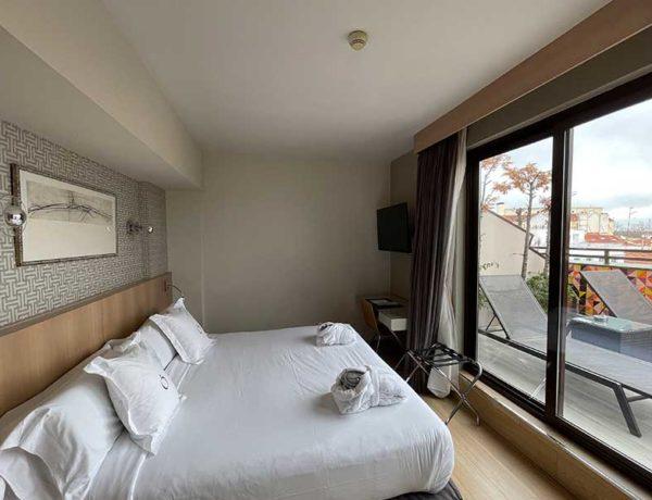 habitación hotel ópera Madrid