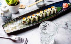 plato de sushi en el japones de chamberi