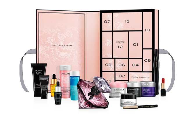 """The Love Calendar"" de Lancôme"