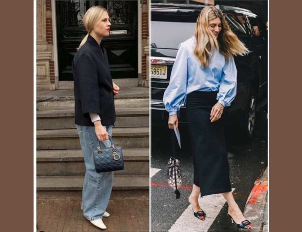 dos mujeres con bolsos