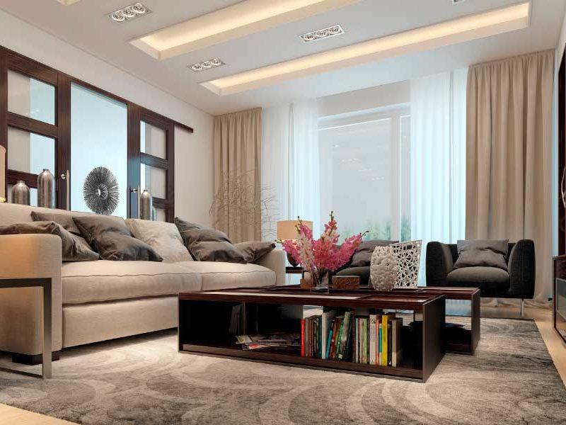 salon decorador para ahorrar energía
