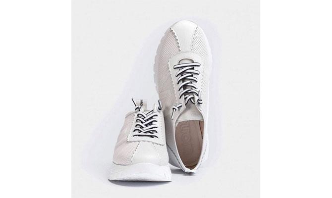 zapatillas blancas Wonders