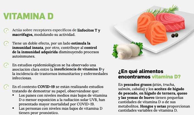información sobre la vitamina D