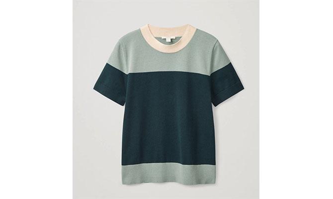 Camiseta verde de Coss