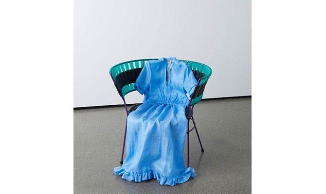 Vestido azul de Baum und Pferdgarten
