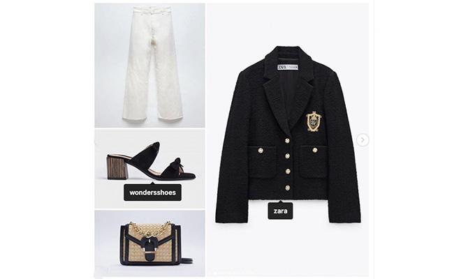 Conjunto total look estilo Chanel