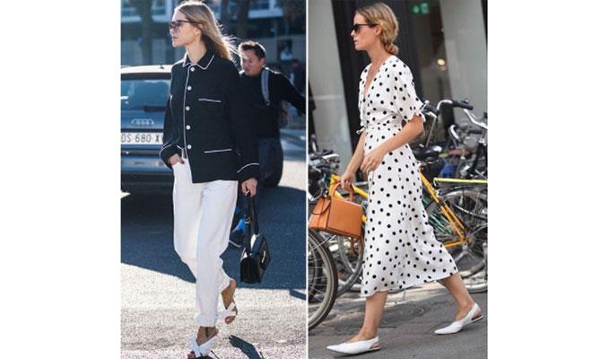 street style de blanco y negro