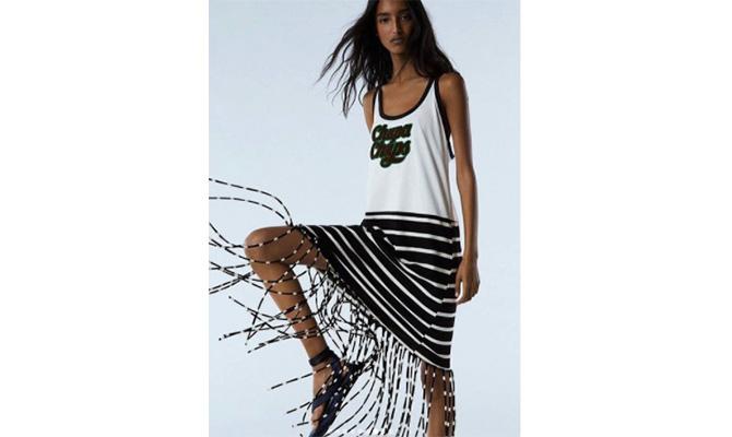 modelo de la nueva colección de Zara