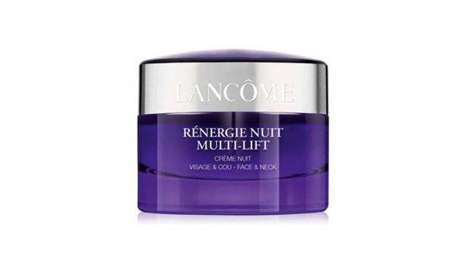 """""""Rénergie Nuit Multi-Lift"""" de Lancôme crema de noche para pieles maduras"""