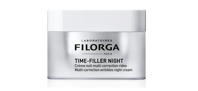 """""""Time-Filler Night"""" de Filorga crema de noche para pieles maduras"""