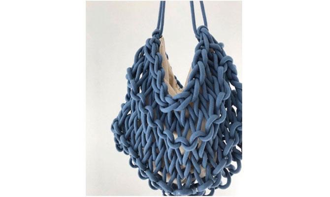 Bolso  azul de Alienina