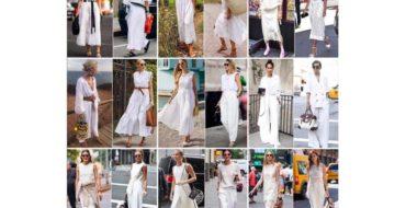 mujeres de más de 50 vestidas de blanco
