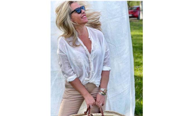Camisa blanca de Saint Tropez Prive