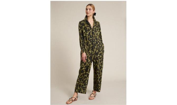 Vestido verde de Luisa Spagnoli