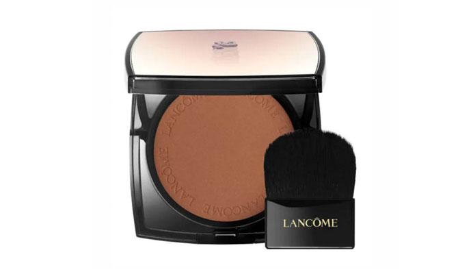 """""""Belle de Teint"""" de Lancôme, los polvos bronceadores que no solo te darán color, también difuminan las imperfecciones al instante."""