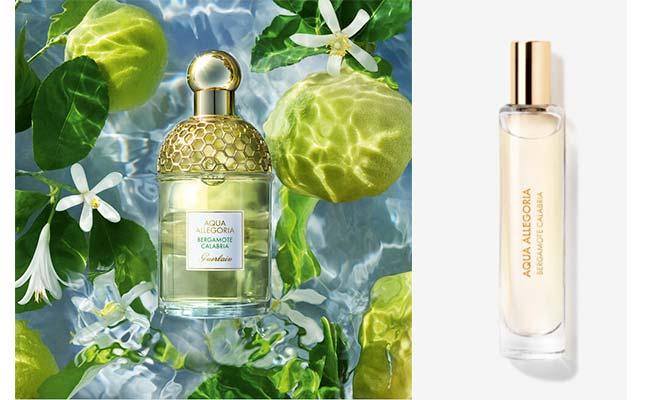 """Aqua Allegoria"" Bergamota Calabria de Guerlain el agua de colonia perfumes de verano para llevar de viaje"