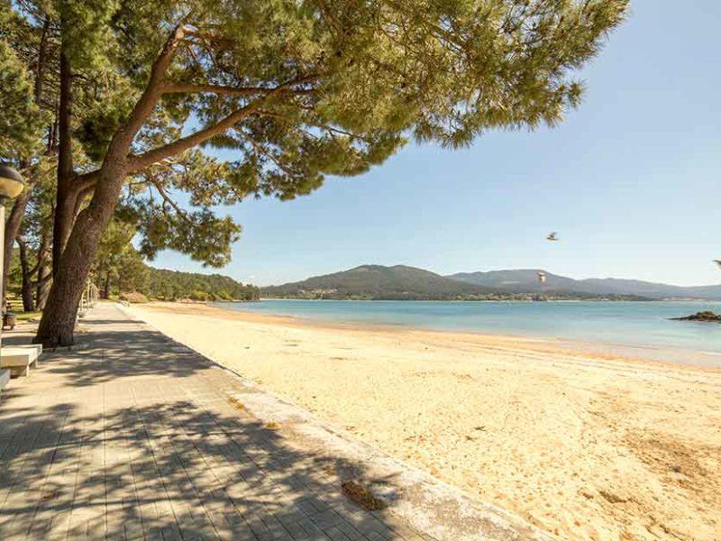 Praia de Broña Serra de Outes