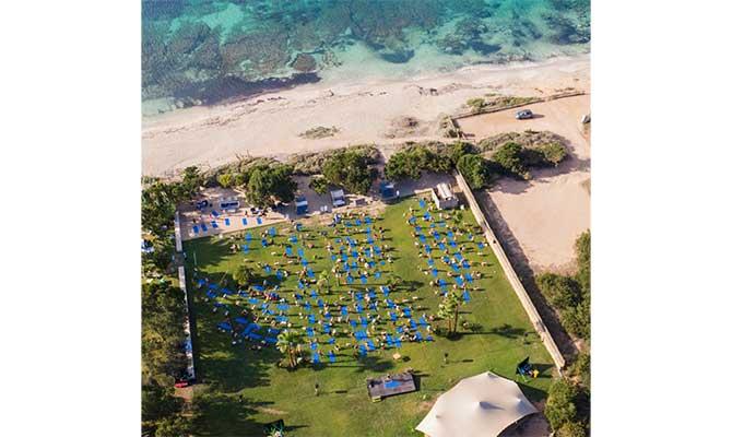 vista aerea del Formentera Zen