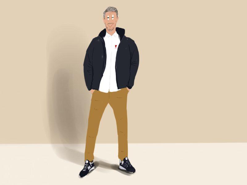 ilustración Dani Wilde oda hombre mas de 50