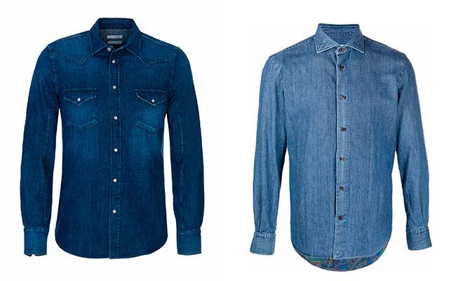 2 camisas vaqueras para hombres mayores de 50