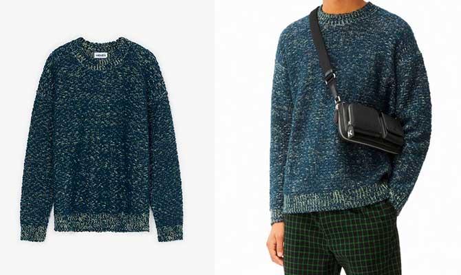 jersey de lana hombre Kenzo