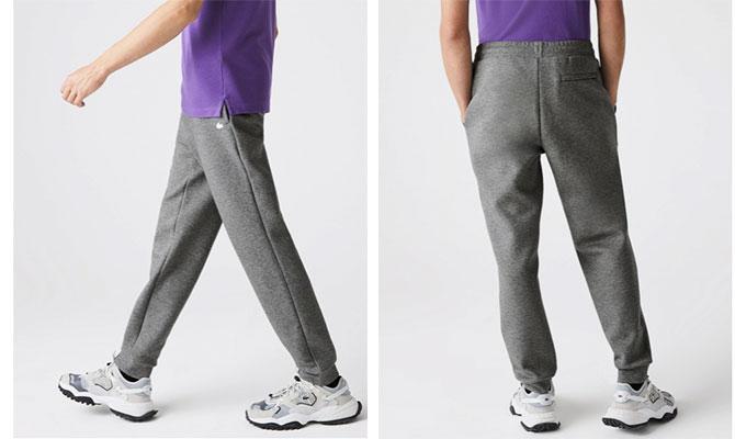 pantalón de chándal Lacoste moda hombre mayores de 50
