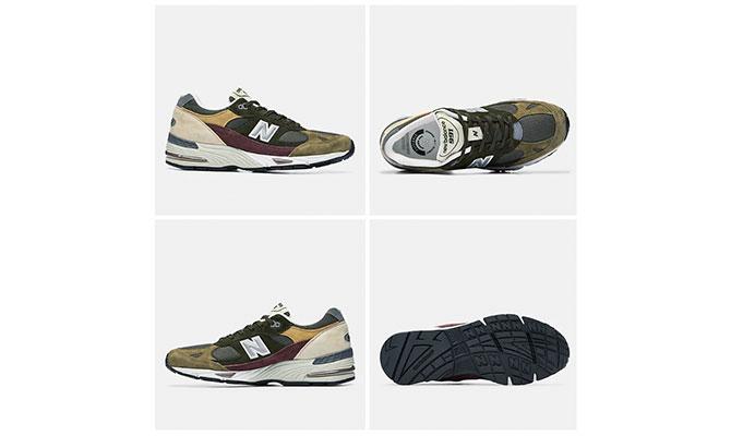 zapatillas New Balance modelo UK 991 para hombres